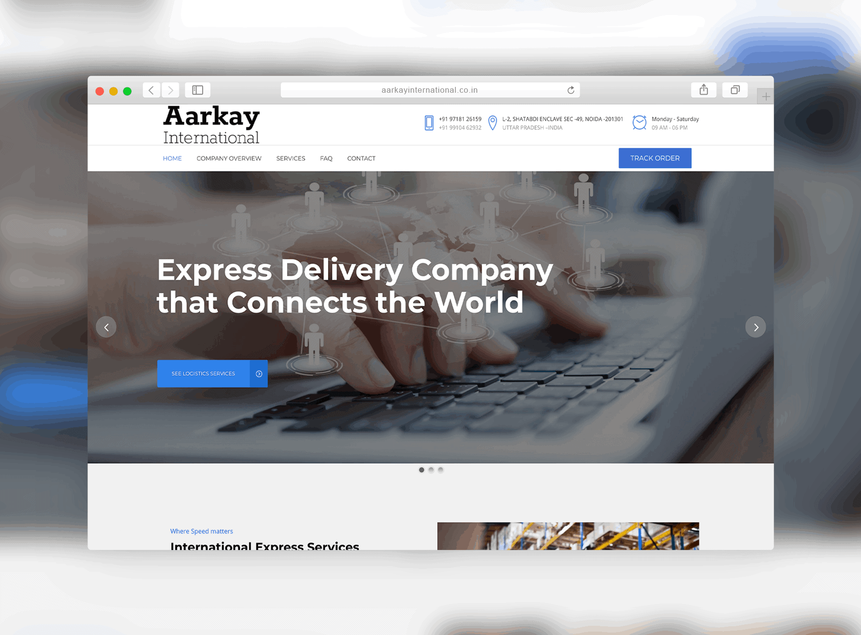aarkayinternational.co .in » SparkWeb | Firma Web Design